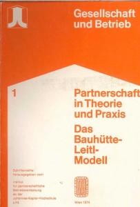 Partnerschaft in Theorie und Praxis: Buchcover